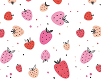 Pattern design - Colorful fruit