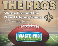 Waste Pro/New Orleans Saints Sponsorship