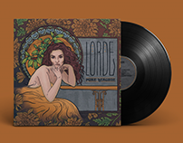 """Pure Heroine"" by Lorde: Re-Design"
