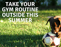 Take Your Gym Routine Outside This Summer