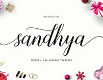 FREE FONT (SANDYA SCRIPT)