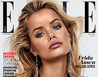 Frida Aasen for ELLE