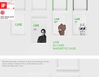 LINE ID CARD CASE DESIGN