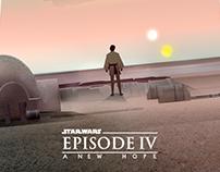 StarWars Episode IV Tribute