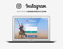 Instagram Concept for Mac OS X