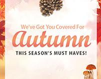 Autumn Campaign - E-Commerce Campaign