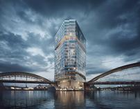 Waterfront Hafenpark Quartier – Marketing Visualization