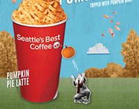 Seattle's Best Coffee Retail Seasonal Campaigns