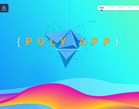 Poly App Landing Page