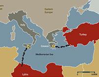 Refugee Exodus Infographic
