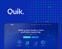 Quik - Branding and Web Design
