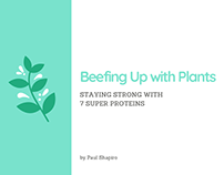 Beefing Up with Plants: Staying Strong with 7 Proteins