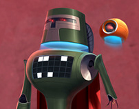 Don Roboto - Character Design