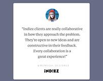 Indiez Instagram Feed Design - Social Media Creatives