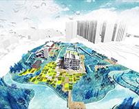 "Water & Plants ""Factory"" (post-industrial landscape)"