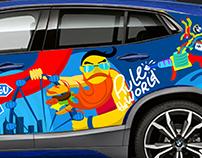 BMW X2 Artcar