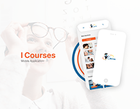 I Courses Mobile Application