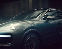Porsche Cayenne Coupé 'Shaped By Performance'