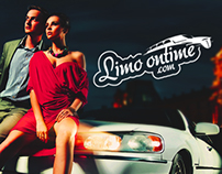 Limo ontime - Creative website design presentation