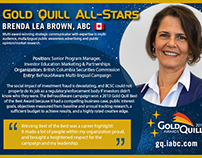 IABC Gold Quill All-Stars Cards for Social Media