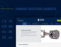 Cardan Systems Website