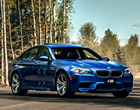 BMW M5 - Photography and Retouch