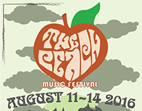 Peach Music Festival Street Banner Project