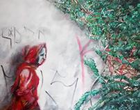 Fragmento Urbano 150x100 Acrylic Paint