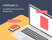 Halfbake - Collaborative Roadmap Design tool