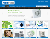 Addvent Website Redesign