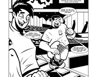 """COMIC BOOK - """"Meat & Potatoes"""" Page 7"""