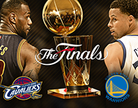 ESPN NBA Finals Graphics