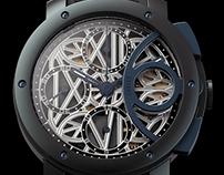 Concept chronograph.