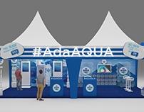 Booth Aqua (lampung)