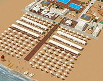 Hotel Lungomare Map-Riccione-Italy