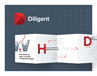 Diligent | Brochure for a cookie tin
