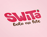 Switá_Bolo no Pote | Visual Identity and Packaging