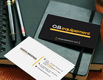 Business card OBE
