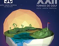 Marca y Dirección de Arte - XXII Torneo de Golf HJT