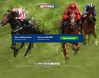 Betfred Royal Ascot LP and banners