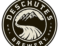 Deschutes Brewery Logo Illustrated by Steven Noble