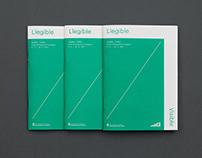 Legible — Visible. Exhibition