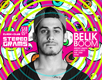 Stereograms w/ Belik Boom at Clash Club