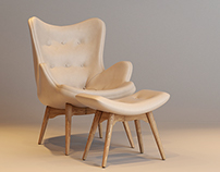 GRANT FETHERSTON CONTOUR CHAIR