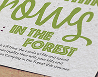 Everything grows in the forest - Direct Mailer