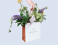Herb Spa visual identity