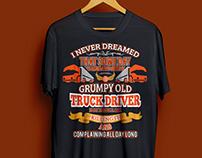 TRUCK DRIVING T-SHIRT