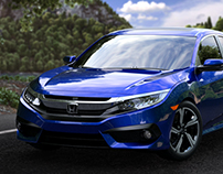 Honda Sensing Civic 2016