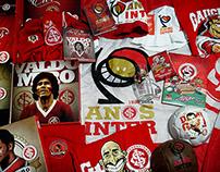 Design e ilustração para o Inter de Porto Alegre