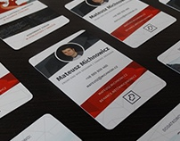 Personal Business Cards - michnowi.cz